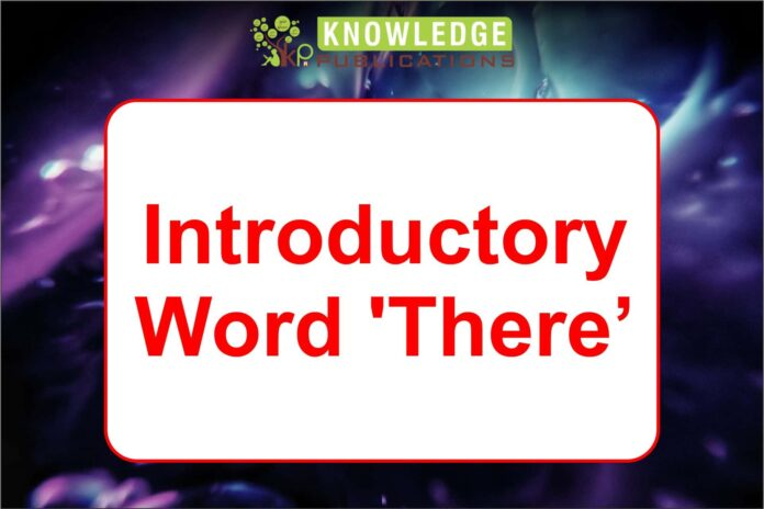 Introductory Word 'There'